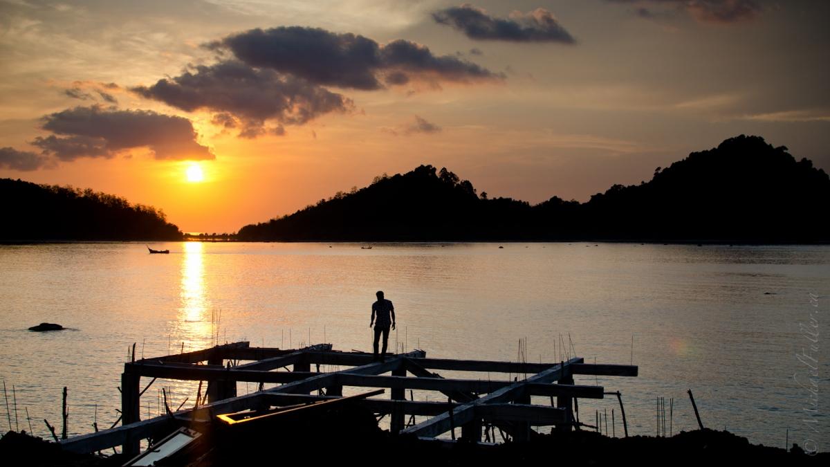Sunset Man
