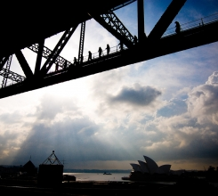 Harbour Bridge over Opera House 4475648017[H]
