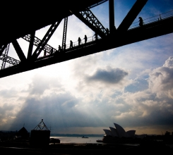 Harbour Bridge over Opera House 4475648017[H]