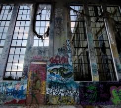 Graffiti Window Sunset 6111727667[H]