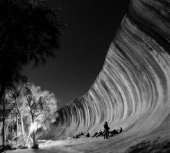 Australia - Midnight at Wave Rock 8053646157[H]