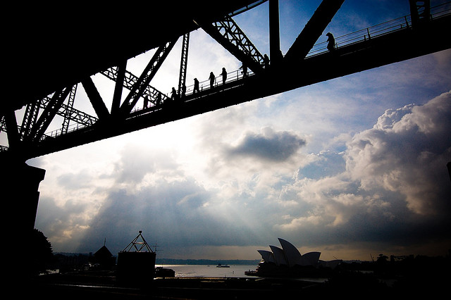 Opera House & Harbour Bridge (Sydney, Australia)