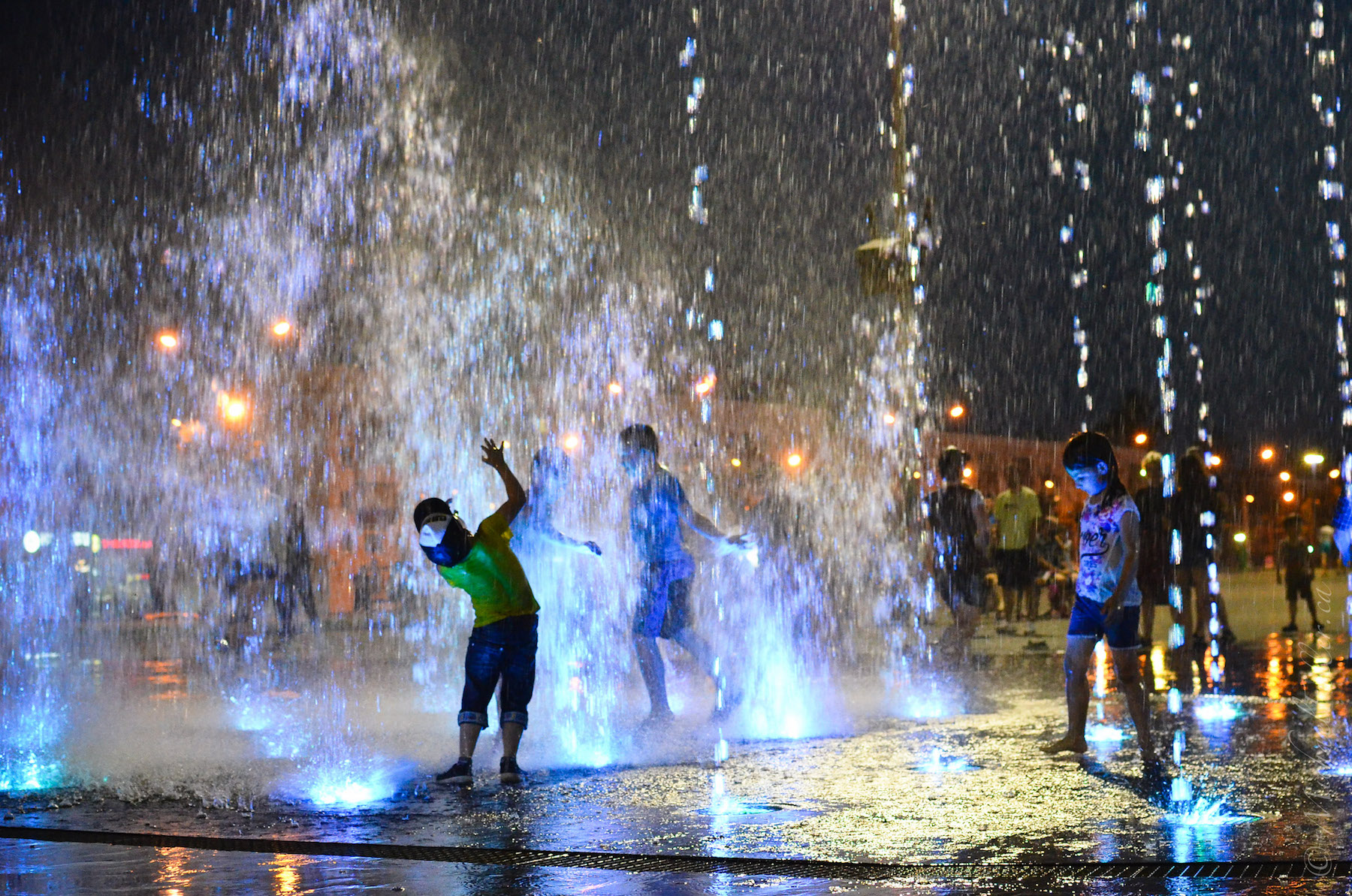 Fountain Boy Wowed