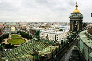 The highest point in Saint Petersburg