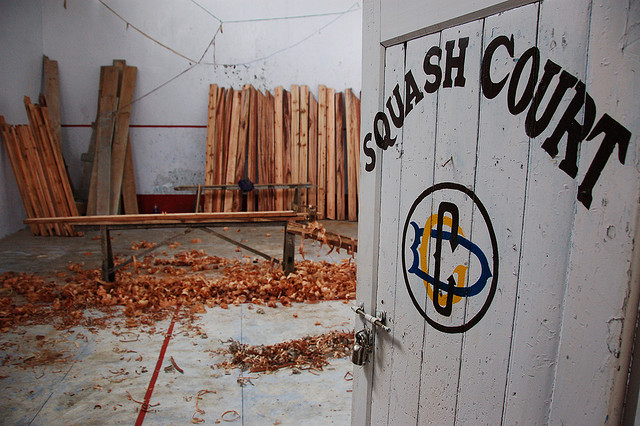 Game of Squash, Anyone?