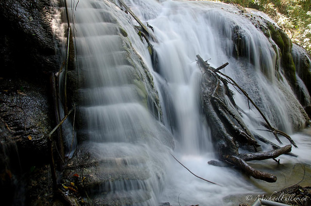 Why you don't build stairs beside waterfalls