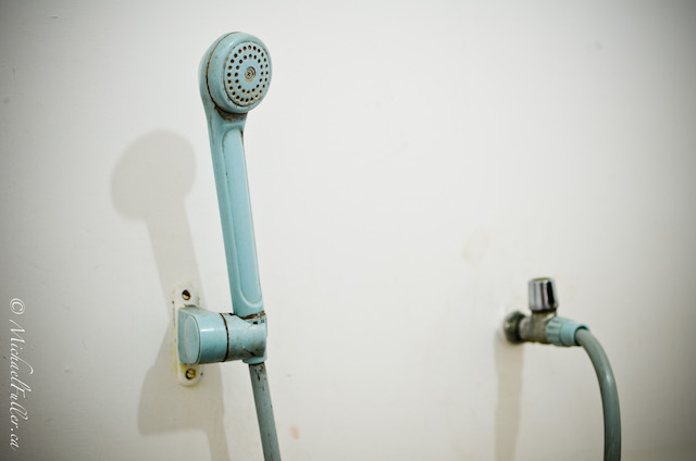 Asian bathroom shower head