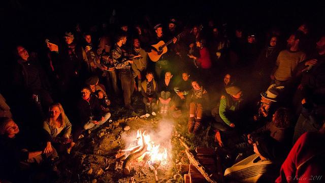Campfire music festival