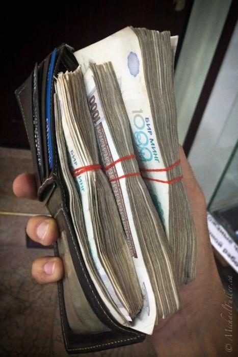 Uzbekistan sum overflows my wallet