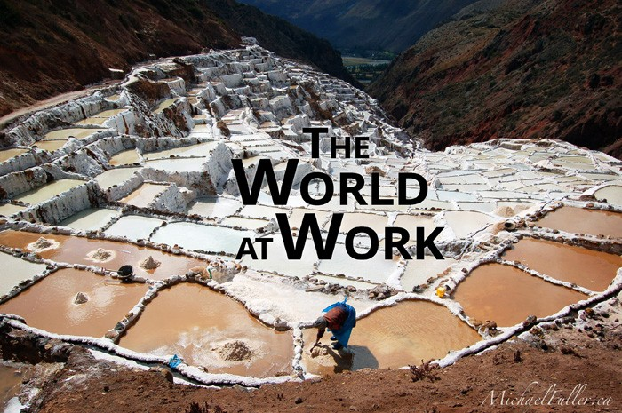 the world at work header