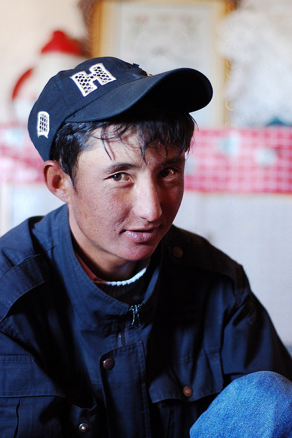 One of our 'Chinese' Kyrgyz yurt-owners.