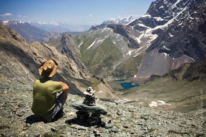 Myke at Alaudin Pass, Tajikistan 3860m