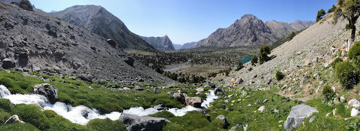 Kulikalon Lakes hiking Tajikistan