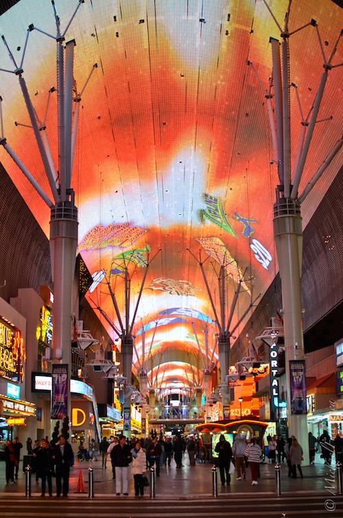 Vegas streets