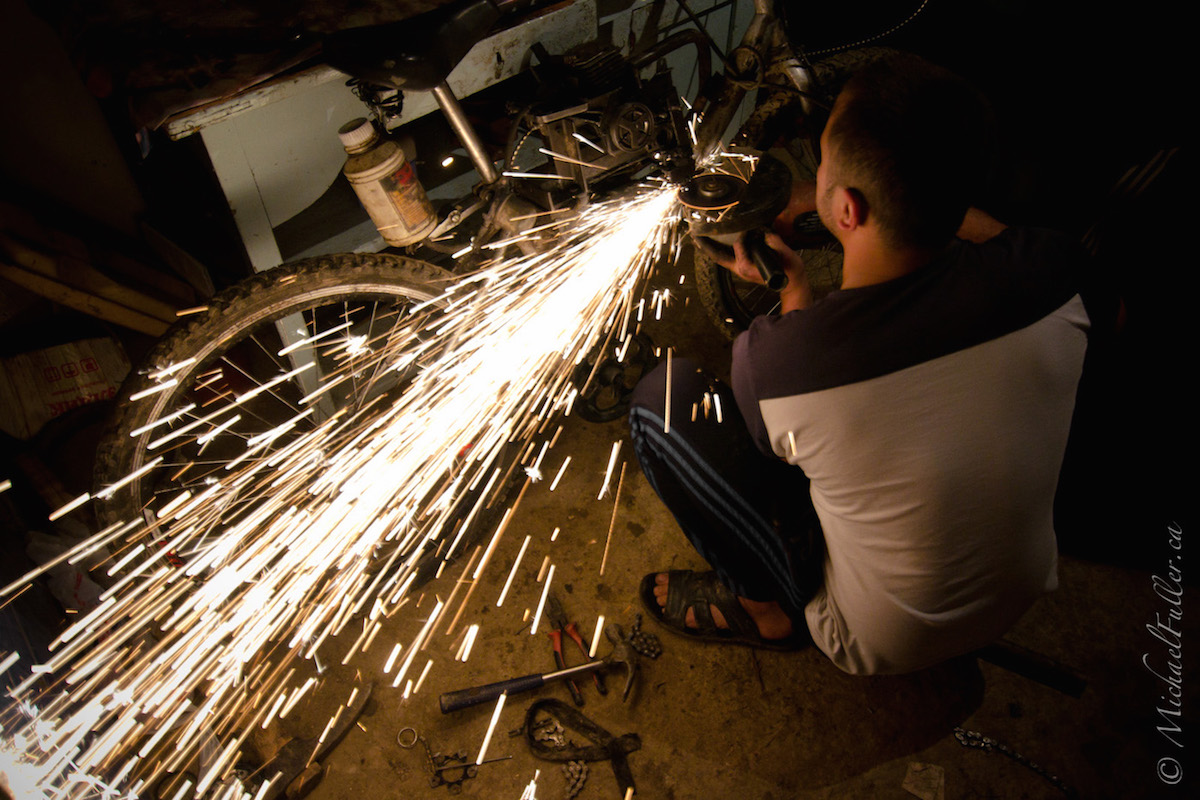 Transforming a Bicycle