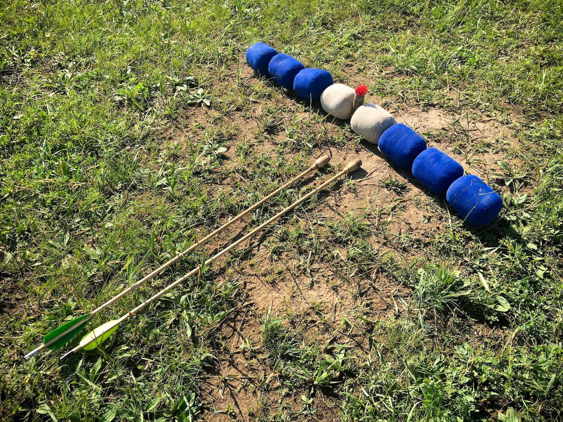 Buryat Archery Target