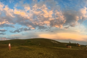 Steppe Anna Sunset