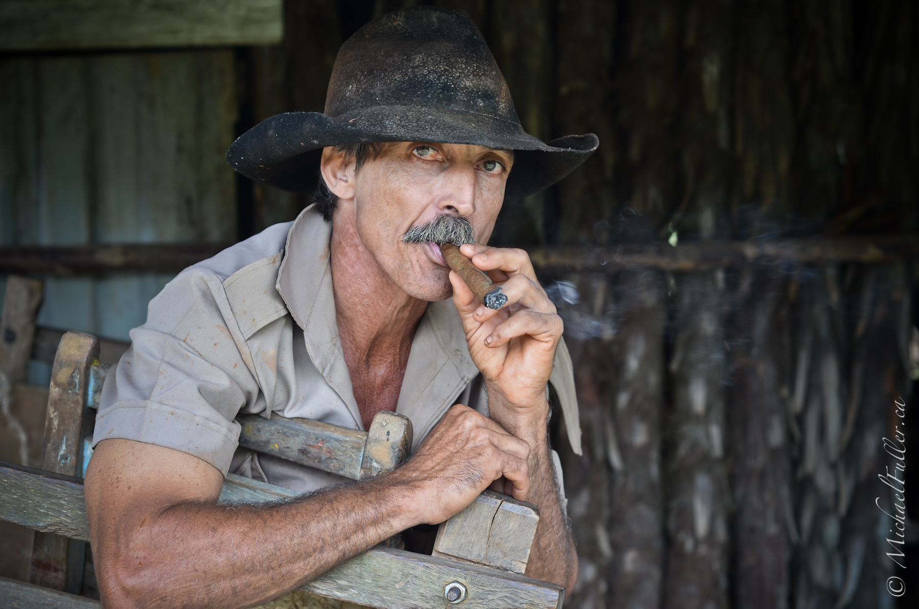The Viñales Tobacco Man