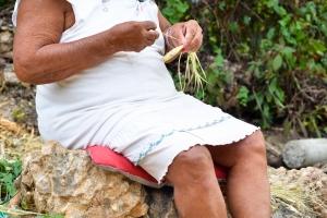 Felicia the Trivet Weaver