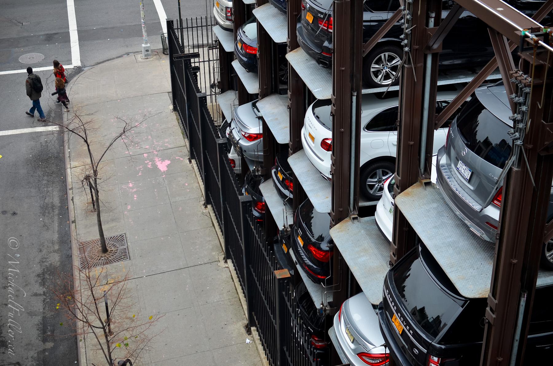 Car Stacker Street-side