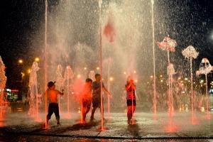 Fountain Kids Disrupting