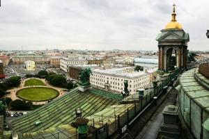 The highest point in Saint Petersburg