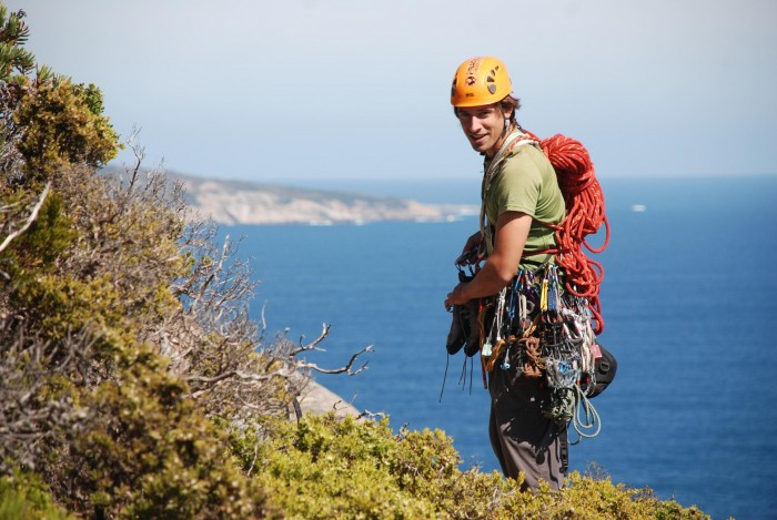 Climbing in West Cape Howe