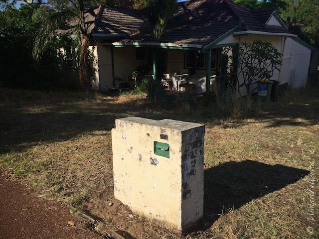 mailbox and irwin street house