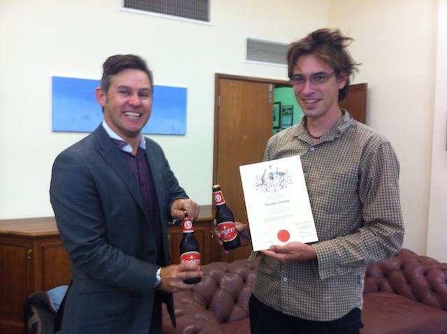 citizenship ceremony with Mayor