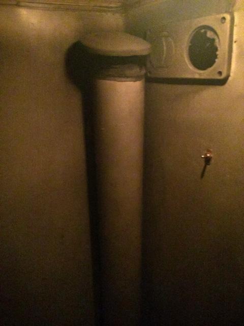 bathroom exhaust fumes