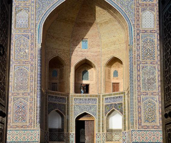 Framing Uzbek's ancient cities