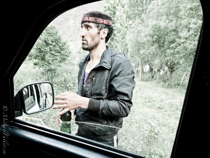 tajik man road trip