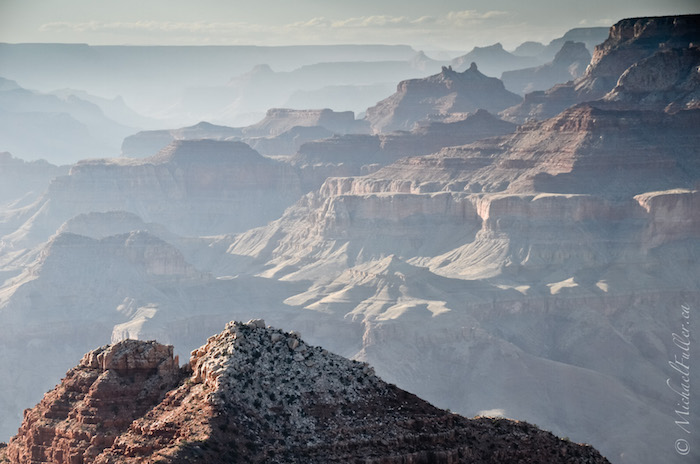 the many layers of the grandest of canyons