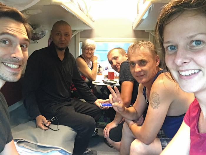 Me, Emil, Baba, Ivan, Alex, and Anna